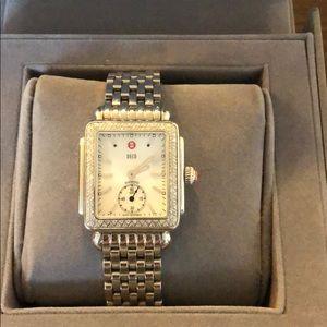 Michele Deco 16 Diamond Watch